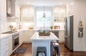Ikea Lighting Kitchen by White Ikea Modern Farmhouse Style Kitchen