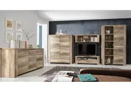 Wohnzimmerschrank Beige Wohnwand Mit Sideboard Eiche Antik Woody 77 00387 Woody Möbel