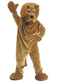 lion costume mascot storybook lion costume