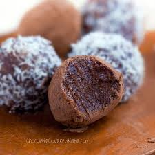 raw chocolate fudge balls nut free low fat