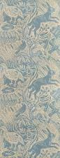 harvest hare wallpaper 60 00 per roll excellent lino print