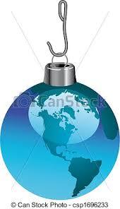 a global ornament a ornament that is vectors