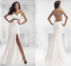 rock you style with long backless prom dresses u2013 designers