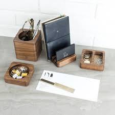 Solid Wood Desk Solid Wood Desk Tidy Modular Set By Man Gun Bear