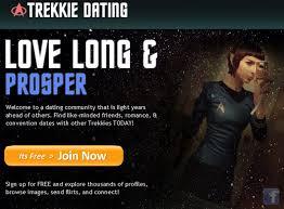 Dating Site Meme - finally a questionable online dating site for trekkies geekologie