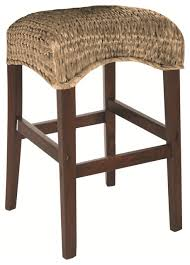 hammary hidden treasures 24 in woven backless counter coaster westbrook woven 24 backless stool in natural set of 2