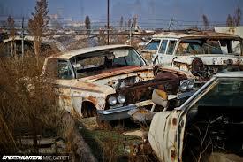 car yard junkyard welcome to the wasteland the great american junkyard speedhunters
