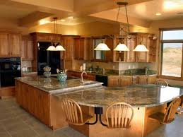 awesome kitchen islands awesome kitchen islands seating large big island kitchen design