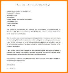 6 lease termination letter affidavit letter
