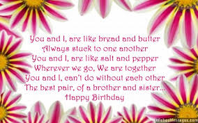 birthday poems for brother u2013 page 3 u2013 wishesmessages com