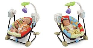 Portable Seat For Baby by Amazon Com Fisher Price Space Saver Swing And Seat Luv U Zoo