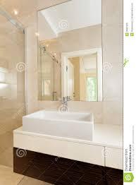 small rectangular vessel sink rectangular vessel sink in modern bathroom stock image image of
