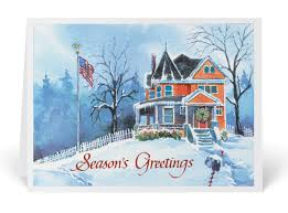 victorian house watercolor holiday cards 4006 harrison