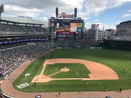 Comerica Park Map Chicago White Sox V Detroit Tigers Comerica Park In Detroit Mi