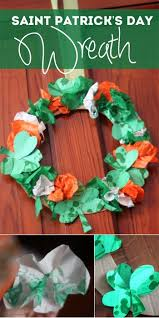 st patrick u0027s day craft wreath hands on as we grow