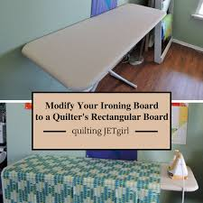 quilting ironing board table photo tutorial how to modify your ironing board into a quilter s