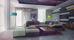 magnificent modern living room design with comfortable sectional