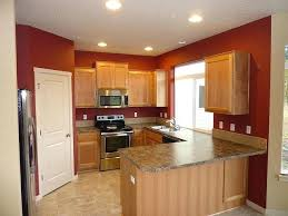 Homebase Kitchen Furniture Cabinet Paint Colors 7 Colorful Choices For The Kitchen Red