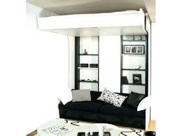 lit superposé avec canapé lit mezzanine canape canape lit ado canape lit chambre ado lit
