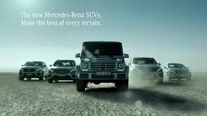 mercedes suv range mercedes commercial insists suv family feels at home in every