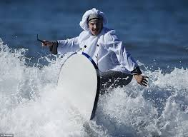 wipe out wave riders don their halloween disguises to face off in