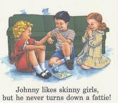 Skinny Girl Meme - johnny likes skinny girls meme guy