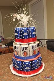 Beer Centerpieces Ideas by How To Make An Easy Beer Can Cake Baby Showers Pinterest