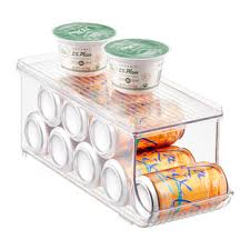 Linus Spice Rack Linus Fridge Binz Soda Can Organizer With Shelf The Container Store