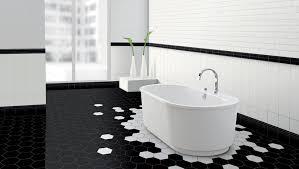 Black Bathroom Floor Tiles Impressive Italian Bathroom Floor Tiles For Designing Home