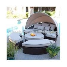 Daybed With Canopy Rattan Round Outdoor Lounge Bed With Canopy Rattan Round Outdoor