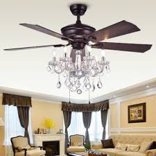 Chandelier Ceiling Fans With Lights Chandelier Ceiling Fan Wayfair 5 Bmorebiostat
