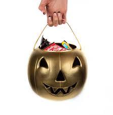 light up halloween buckets diy pumpkin halloween candy bucket