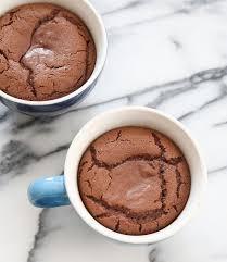 4 ingredient molten nutella lava mug cake recipe food travel