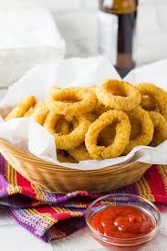 onion rings with images Skinny seasoned baked onion rings erren 39 s kitchen jpg