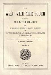 the war with the south a history of the late rebellion with