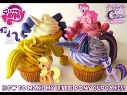 my pony cupcakes how to make my pony cupcakes