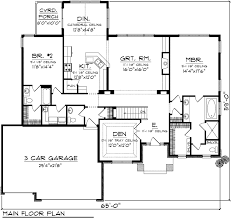 ranch floor plans open concept house plan 73376 at familyhomeplans com