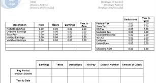 free pay stub templates creative template pulse linkedin