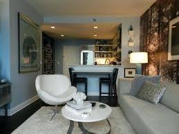 studio apartment furniture placement small design pleasing