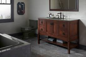 Craftsman Style Bathroom Fixtures Craftsman Style Cabinets In Your Home Interior Decorations