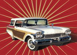 1957 mercury colony park station wagon heacock classic insurance