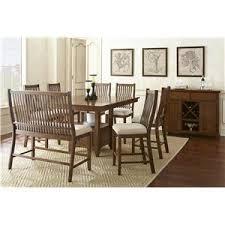 Steve Silver Dining Room Furniture Kayan 8 Piece Counter Height Dining Set Belfort Furniture Pub