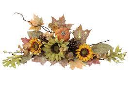 admiredbynature artificial sunflowers pumpkins pinecone maple