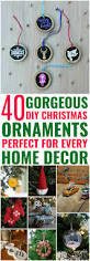 40 gorgeous diy christmas ornaments for a fun festive holiday