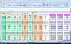 Auto Loan Spreadsheet Business Finance Applications