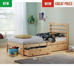 buy kaycie mid sleeper single bed frame white at argos co uk
