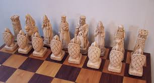 custom made house of hauteville chess set board not included by