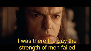 Lotr Memes - when sub prequelmemes is so overwhelmed with lotr memes you
