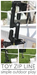 toy zip line homemade outdoor zip line summer activity play