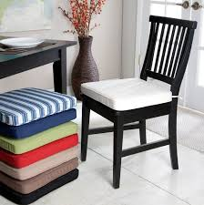 Delighful Dining Room Chair Seat Cushions Pads Amusing - Dining room chair seat cushions